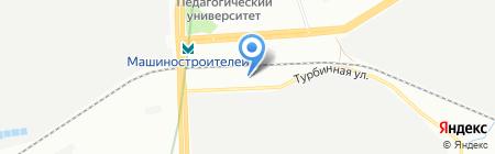 Всем Двери на карте Екатеринбурга