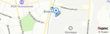 Металл-Завод на карте Екатеринбурга