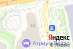 Схема проезда до компании Трын-Трава в Екатеринбурге