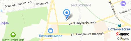Golden Gym на карте Екатеринбурга