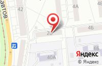 Схема проезда до компании Август в Екатеринбурге