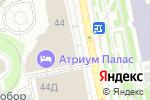 Схема проезда до компании Финикс-М в Екатеринбурге