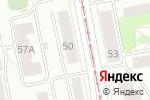 Схема проезда до компании Свадьба Люкс в Екатеринбурге