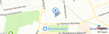 Внедорожник66 на карте Екатеринбурга