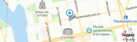 Cafe Leone на карте Екатеринбурга