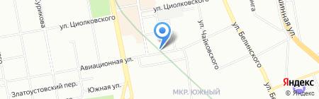 АртСтальУрал на карте Екатеринбурга