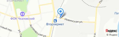 Копитон на карте Екатеринбурга