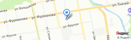 Аквариус на карте Екатеринбурга