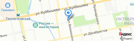 Банкомат АКБ РосЕвроБанк на карте Екатеринбурга
