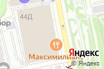 Схема проезда до компании Louis De Fleur в Екатеринбурге