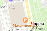 Схема проезда до компании PANORAMA BUSINESS HOTEL в Екатеринбурге