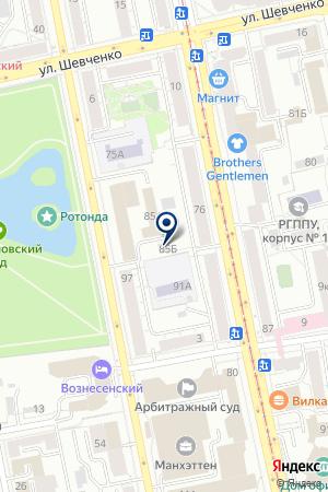 Fitness.ru на карте Екатеринбурга