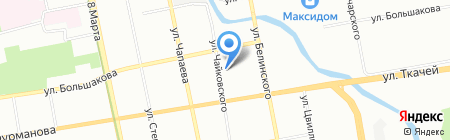 istudio96.ru на карте Екатеринбурга