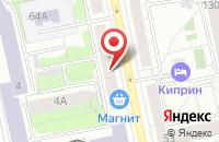 Схема проезда до компании ИнтерТрейд в Екатеринбурге