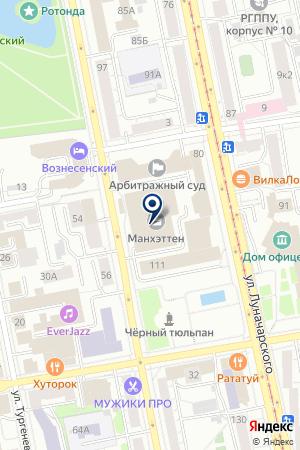 Виктория-Екатеринбург на карте Екатеринбурга