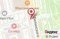 Схема проезда до компании Дельта-План в Екатеринбурге