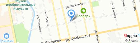 Банкомат Тагилбанк на карте Екатеринбурга