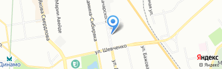 Доступная роскошь на карте Екатеринбурга