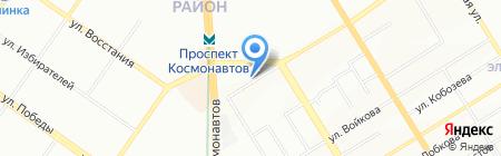 Аквалайф на карте Екатеринбурга