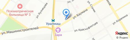 Ровесник на карте Екатеринбурга