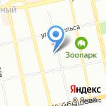 World Class на карте Екатеринбурга