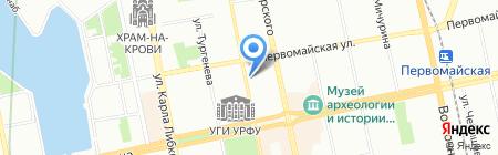 РозаМаркет на карте Екатеринбурга