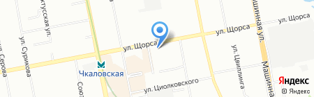 12 Месяцев на карте Екатеринбурга