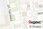 Схема проезда до компании Хануман в Екатеринбурге