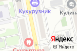 Схема проезда до компании Grunge Garage в Екатеринбурге