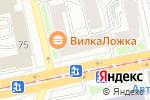 Схема проезда до компании Очкофф в Екатеринбурге