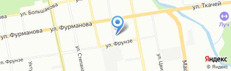 Почтовое отделение №142 на карте Екатеринбурга