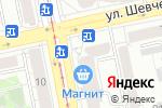 Схема проезда до компании Нужные Вещи в Екатеринбурге