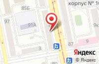 Схема проезда до компании Практика в Екатеринбурге