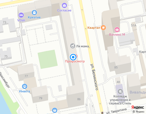 Управляющая компания «КЭП-1» на карте Екатеринбурга