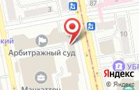 Схема проезда до компании Экспресс-Лайн в Екатеринбурге