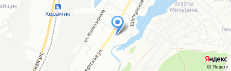 Крепеж-Сити на карте Екатеринбурга