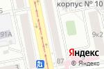 Схема проезда до компании Очки Куделиной В.М. в Екатеринбурге
