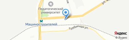 Автомагазин на карте Екатеринбурга
