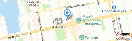 Поликлиника №2 на карте Екатеринбурга