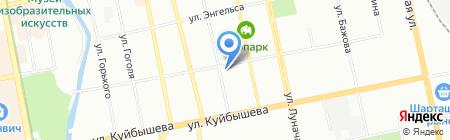Банкомат ГУТА-БАНК на карте Екатеринбурга