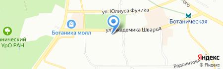 Твоя квартира на карте Екатеринбурга