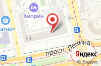 Схема проезда до компании Аква-Пресс в Екатеринбурге