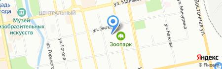 Школа Грации на карте Екатеринбурга