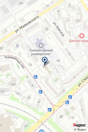 Аз-Капитал на карте Екатеринбурга