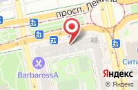 Схема проезда до компании Регионмедиа в Екатеринбурге