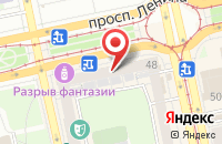Схема проезда до компании ЕЦМ-Сервис в Екатеринбурге