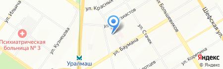 Первая осетинская пироговая на карте Екатеринбурга