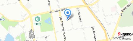Школа Конфуция на карте Екатеринбурга