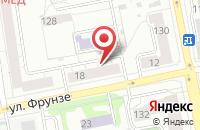 Схема проезда до компании Блистай в Екатеринбурге