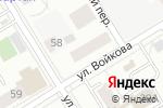 Схема проезда до компании Шинмаркет в Екатеринбурге